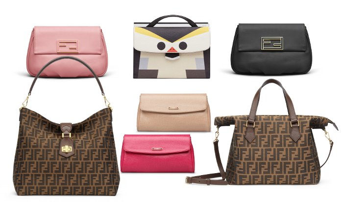 Catalogo Fendi primavera estate 2015