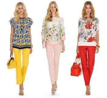 Luisa Spagnoli abbigliamento primavera estate 2015
