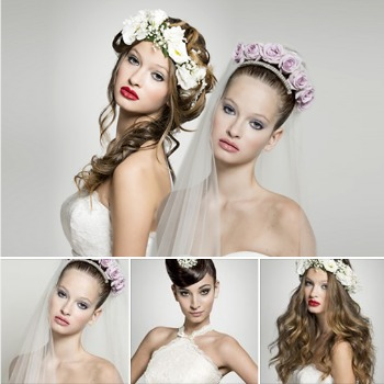 Acconciature sposa 2015