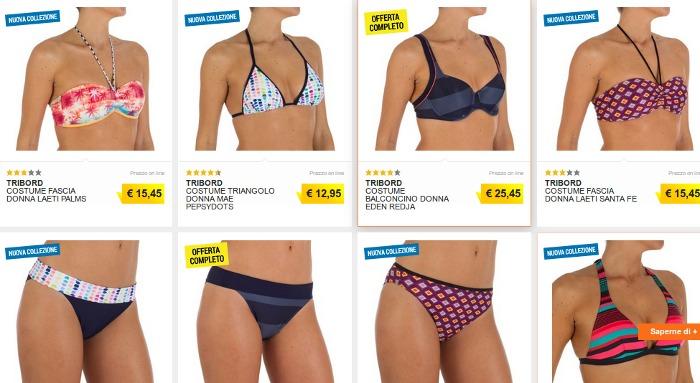Bikini Decatlon estate 2015