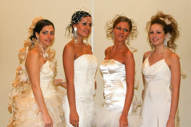 Capelli sposa pettinature moderne