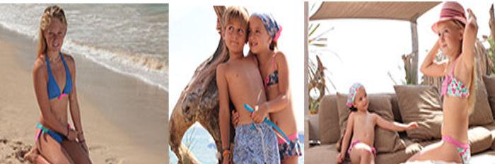 Costumi Kiwi bambini estate