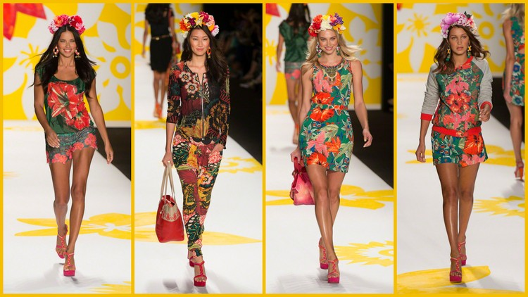 Desigual vestiti primavera estate 2015