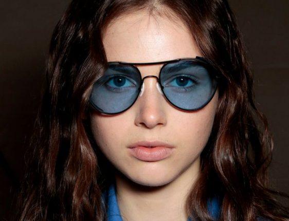Occhiali da sole con lenti colorate tendenze 2015