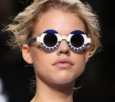 Occhiali da sole concoloratissime Montature tendenze 2015
