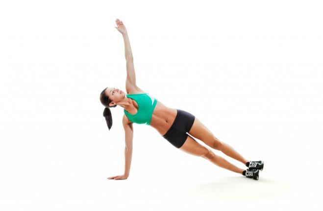 Il plank laterale Corpo perfetto con dodici esercizi