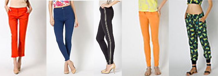 Patrizia Pepe pantaloni colorati