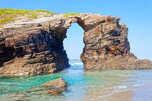 Playa de Las Catedrales Ribadeo Spagna