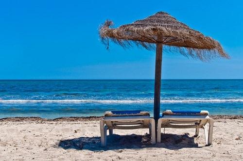 Playa de Las Rodas Galicia Spagna