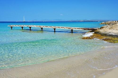 Ses Illetes Formentera Isole Baleari Spagna