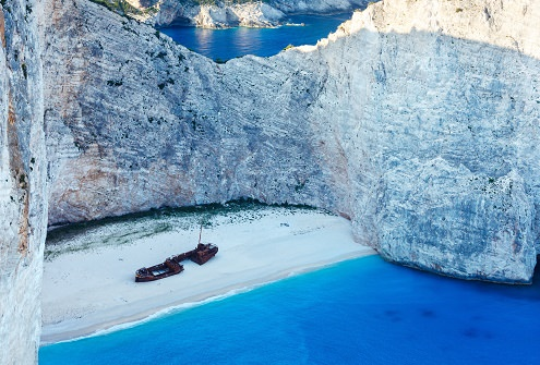 Shipwreck Bay Grecia