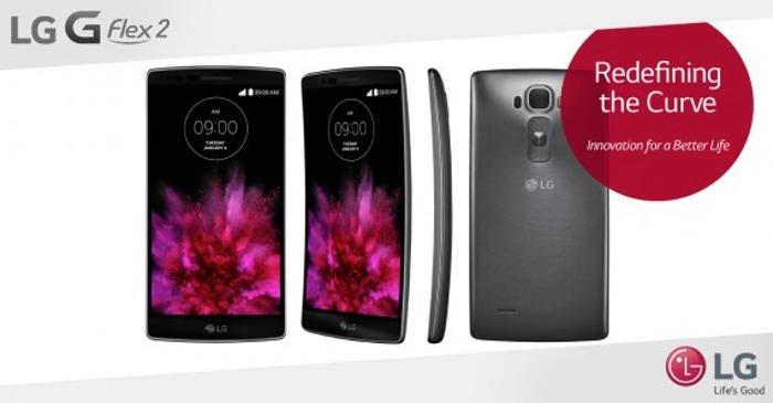 Smartphone LG G Flex2