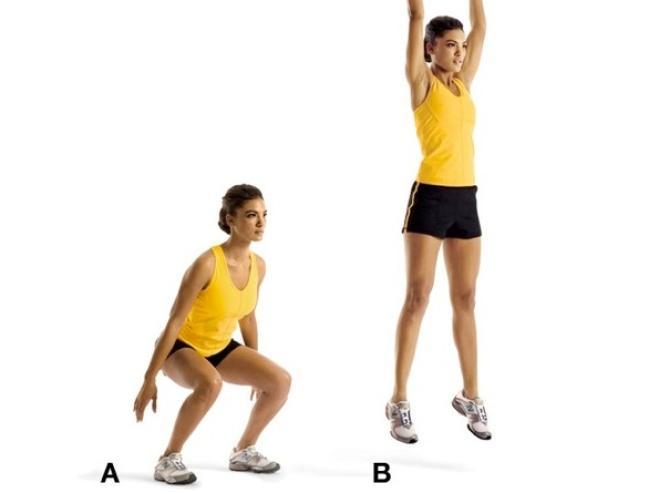 Squat Corpo perfetto con dodici esercizi
