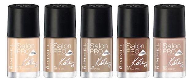 Rimmel London Salon Pro smalti Kate Moss