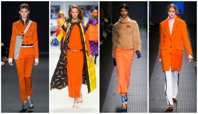 Colori di tendenza autunno-inverno 2015 2016 arancione