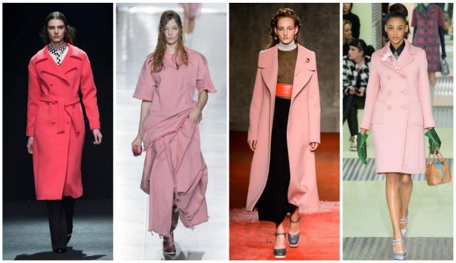 Colori di tendenza autunno-inverno 2015 2016 rosa