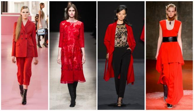 Colori di tendenza autunno-inverno 2015 2016 rosso
