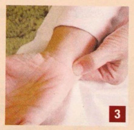 Massaggio do-in Per controllare la paura