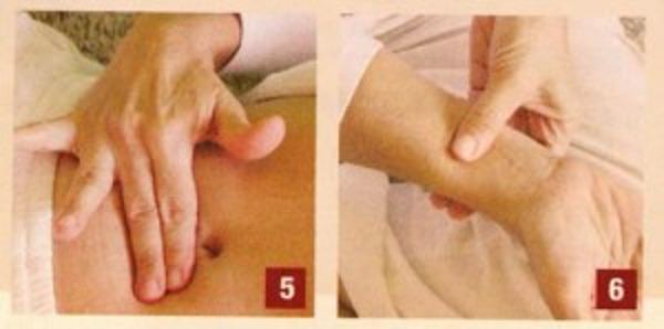 Massaggio do-in Per sbarazzarsi di incertezza