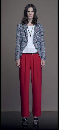 Pantalone Rosso Artigli Autunno Inverno 2015 2016