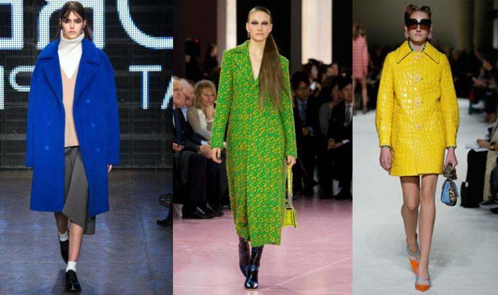 Cappotti con disegni luminosi 2016