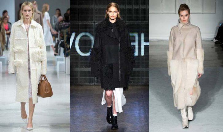 Cappotti con materiali diferenti 2016