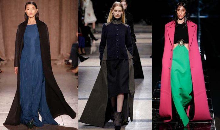 Cappotti lunghi inverno 2016
