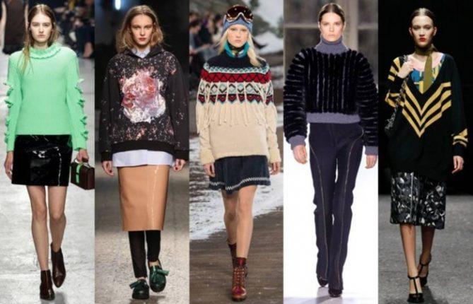 Maglioni moda inverno