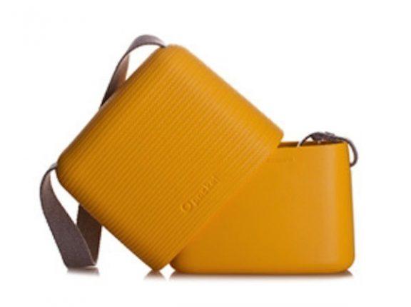 Borsa O Bag Pocket Giallo Ocra