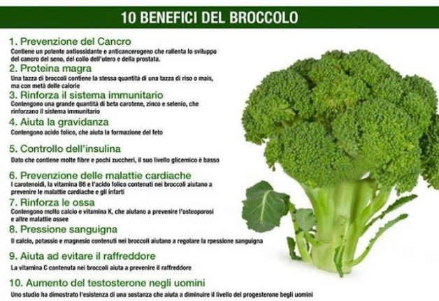 Broccoli salutei