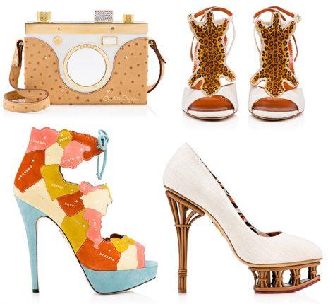 Charlotte Olympia collezione scarpe borse primavera estate