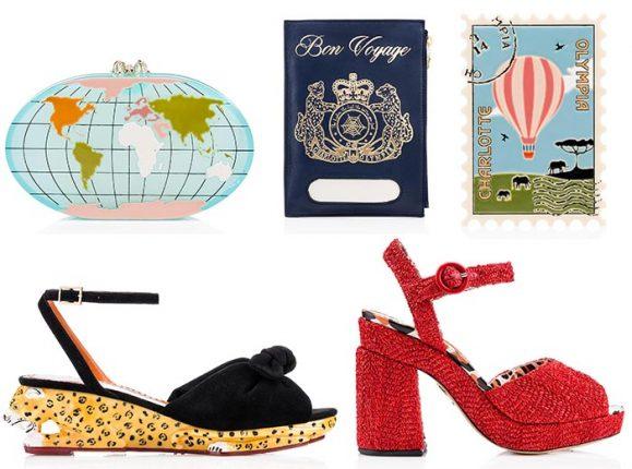 Charlotte Olympia scarpe borse primavera estate