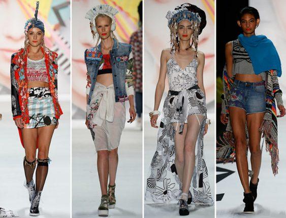 Desigual collezione abbigliamento donna moda primavera estate 1
