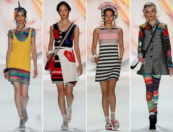 Desigual collezione abbigliamento donna moda primavera estate 2