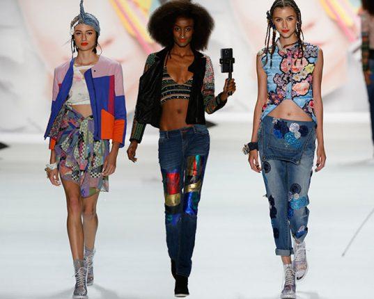 Desigual nuova collezione abbigliamento donna moda primavera estate