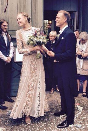 Frida Gustavsson Matrimonio Con Hjalmar Rechlin Abito Valentino Couture