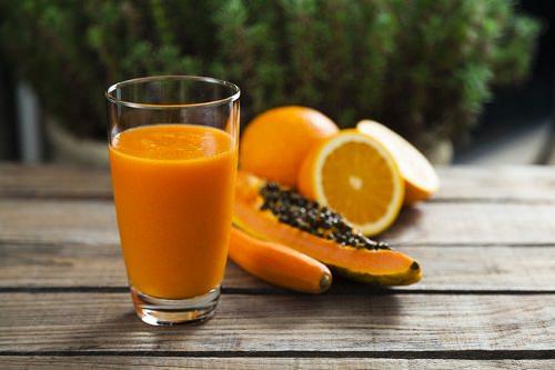 Frulato Papaya arancia e carota