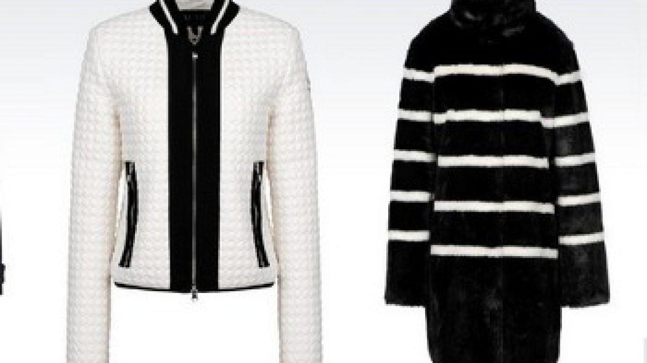 size 40 a2fab 217d8 Giubbotti Armani Jeans donna inverno 2016 - Abbigliamento ...