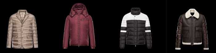 Giubbotti e piumini Moncler collezione uomo autunno inverno