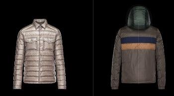 Giubbotti e piumini Moncler collezione uomo autunno inverno 2016