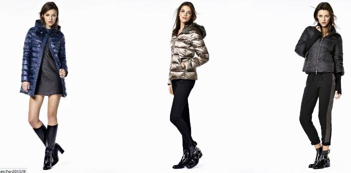 Giubbotti piumini e giacconi collezione e catalogo abbigliamento moda donna Liu Jo autunno inverno