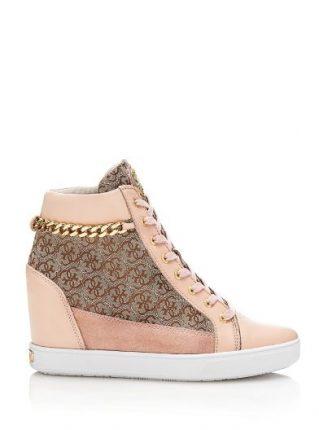 Guess Scarpe Sneakers Con Zeppa