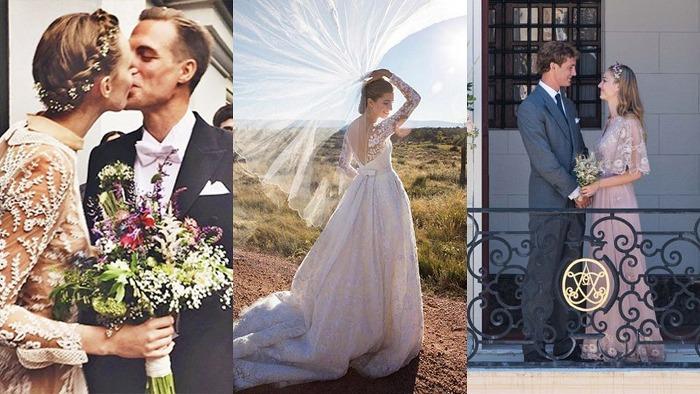 Le più eleganti spose VIP del 2015