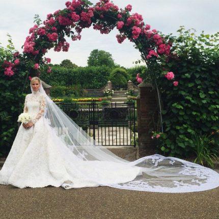 Nicky Hilton Matrimonio Con James Rothschild Abito Valentino Couture