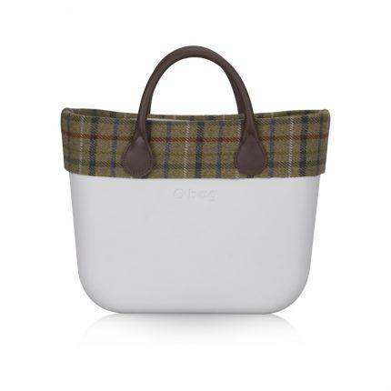 O Bag Con Stampa A Quadretti