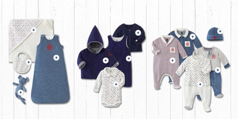 Petit Bateau Collezione Baby Blu