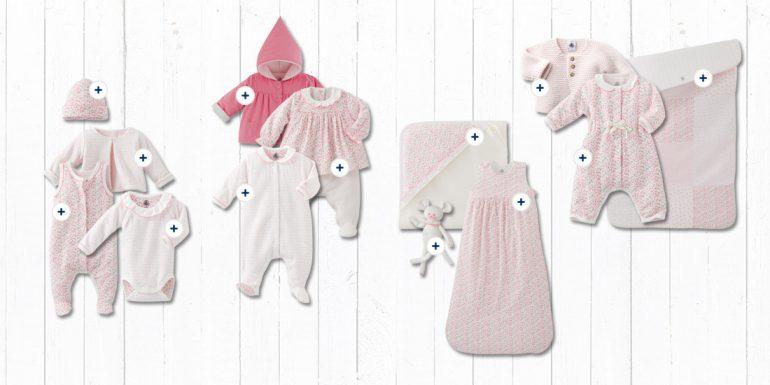 Petit Bateau Collezione Baby Rosa