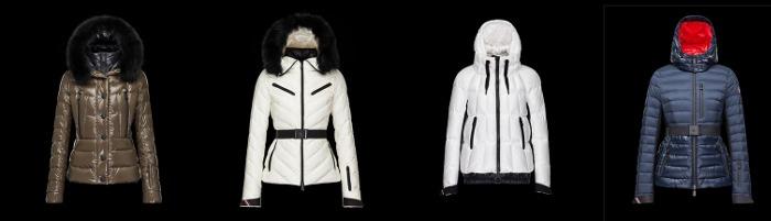 Piumini Moncler collezione donna autunno inverno
