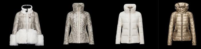 Piumini Moncler collezione donna catalogo autunno inverno