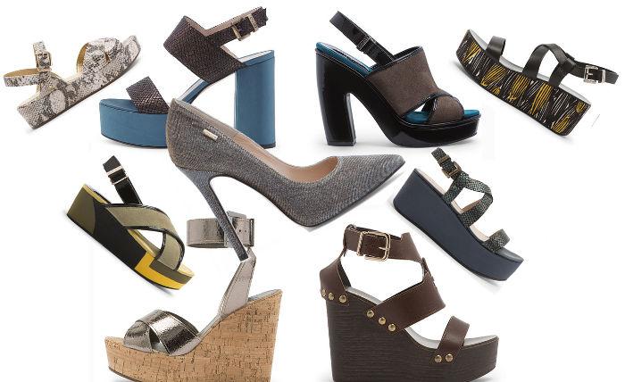 Scarpe Liu Jo collezione donna moda primavera estate zeppe
